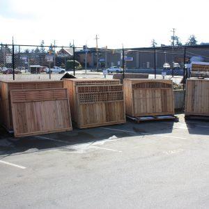 Cedar Fence Panels & Gates