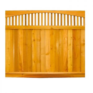 Cedar Fence Panel - Summit