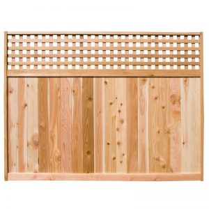 Cedar Fence Panels - Horizontal