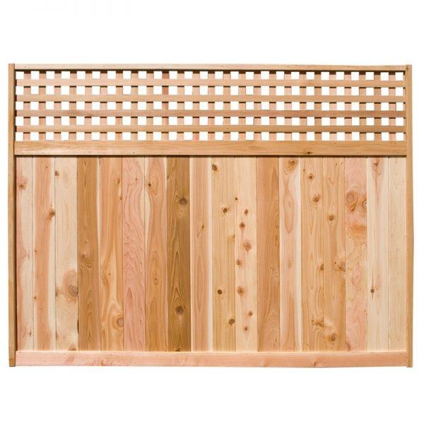 Cedar Fence Panels - Horizontal