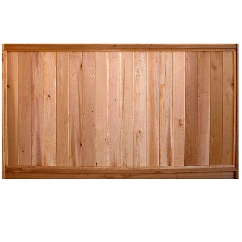 Cedar Fence Panel - Solid