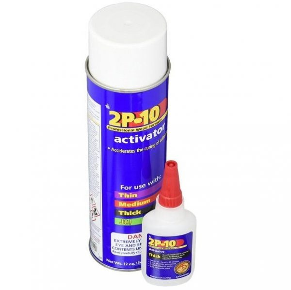 2P-10 Professional Wood Formula Thick Adhesive & Activator
