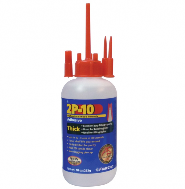 2P-10 Professional Wood Formula Adhesive Thick 10oz