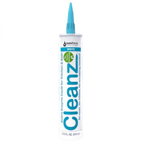 Cleanz Kitchen & Bath Caulk White 10.5oz