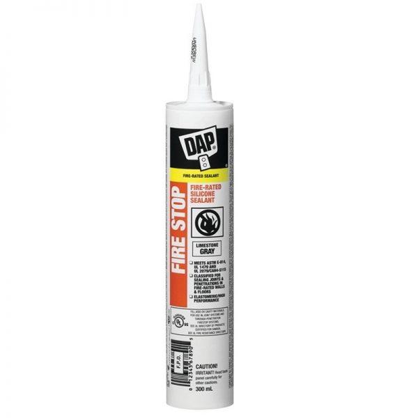Dap Firestop Silicone Sealant Grey