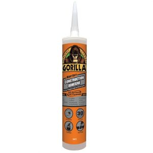 Gorilla Construction Adhesive White