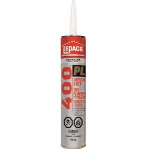 LePage PL400 Sub Floor Adhesive 295mL