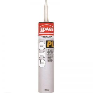 LePage PL610 Mirror Adhesive 295mL