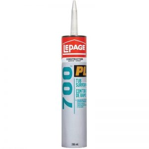 LePage PL700 Tub Surround Adhesive 295mL