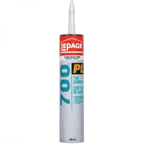LePage PL700 Tub Surround Adhesive 295mL