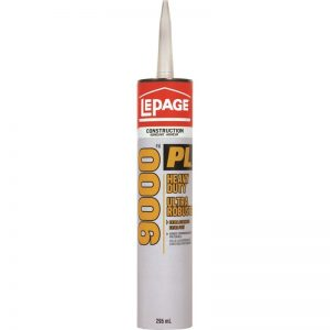 LePage PL9000 Heavy Duty Construction Adhesive